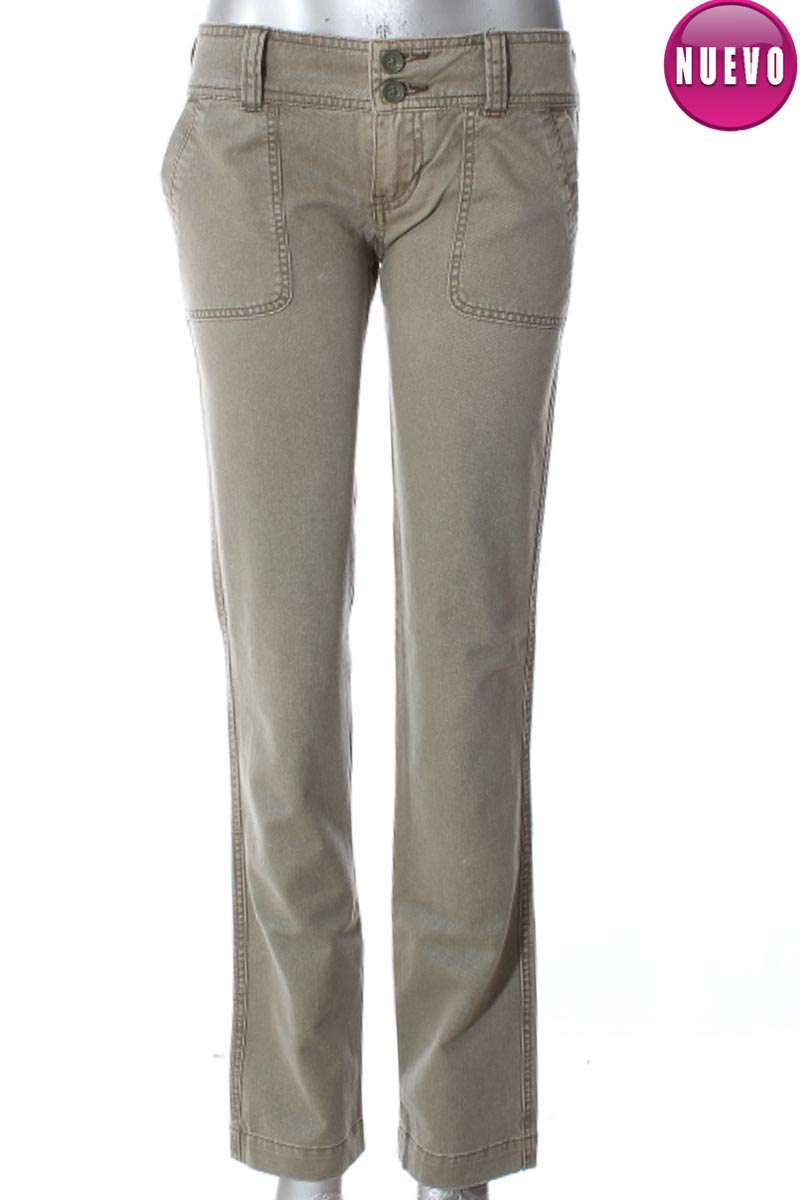 Pantalón Casual color Verde - Hollister