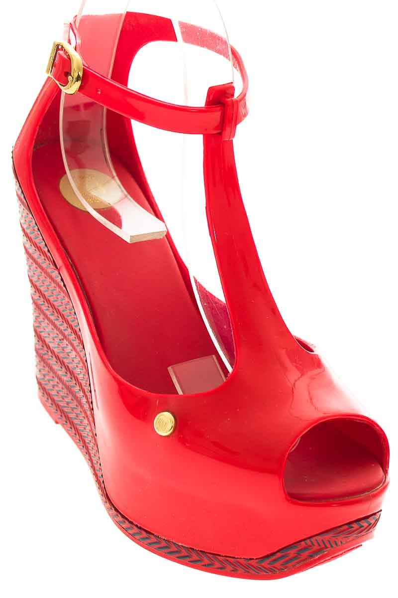 Zapatos color Rojo - Melissa