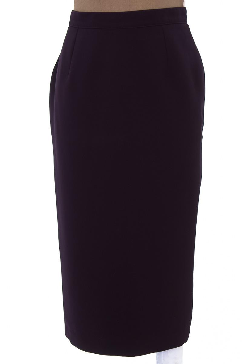 Falda Elegante color Morado - Sylvia Paris