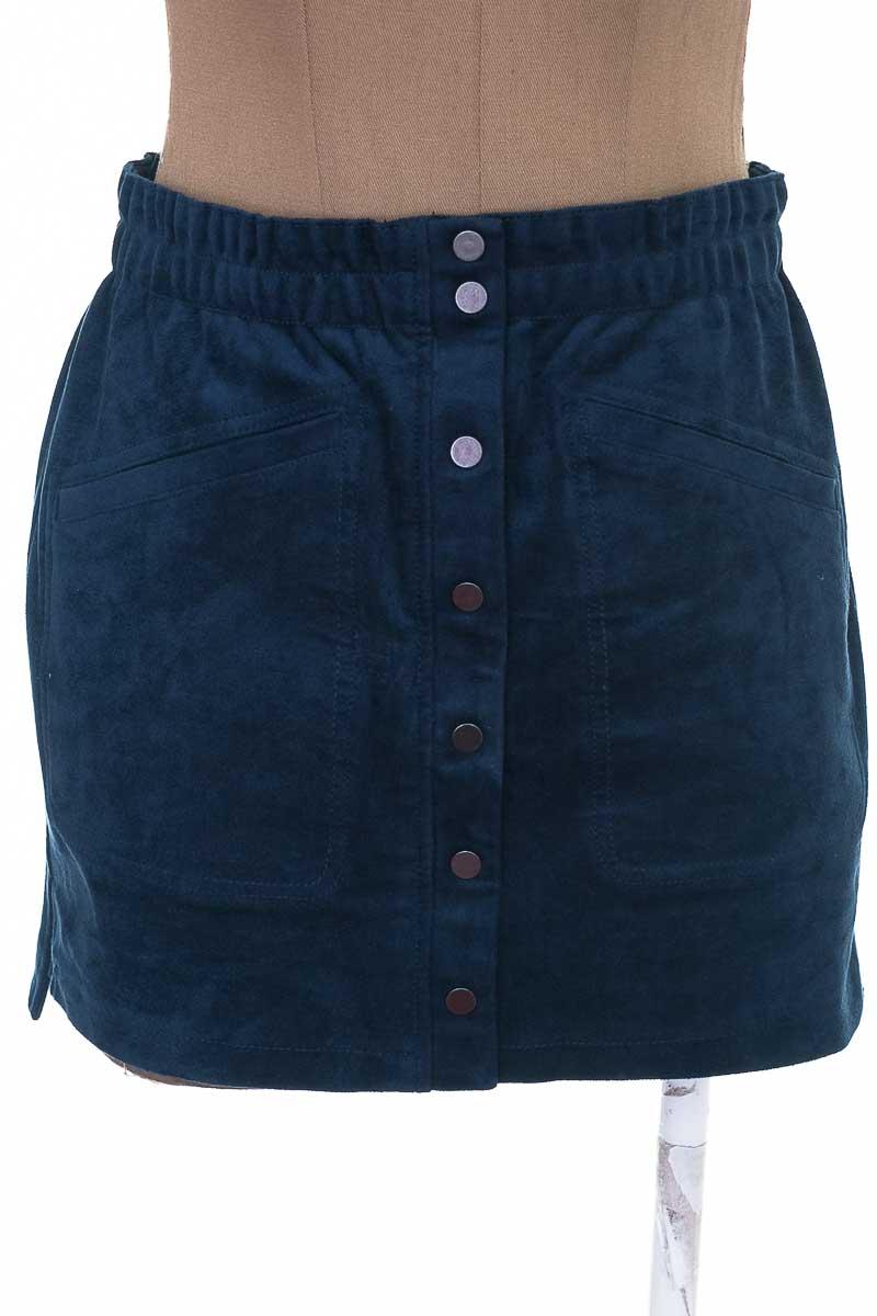Falda Jean color Azul - BCBG