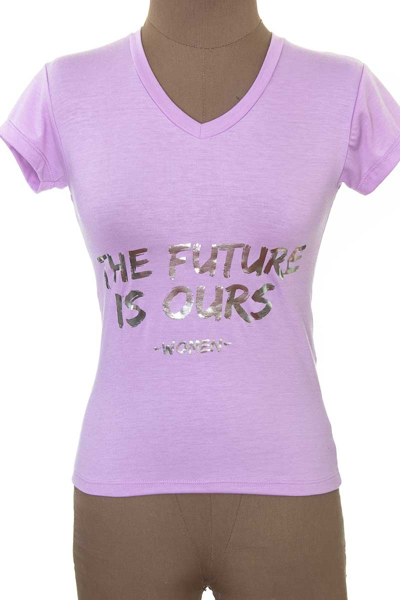 Top / Camiseta color Morado - American