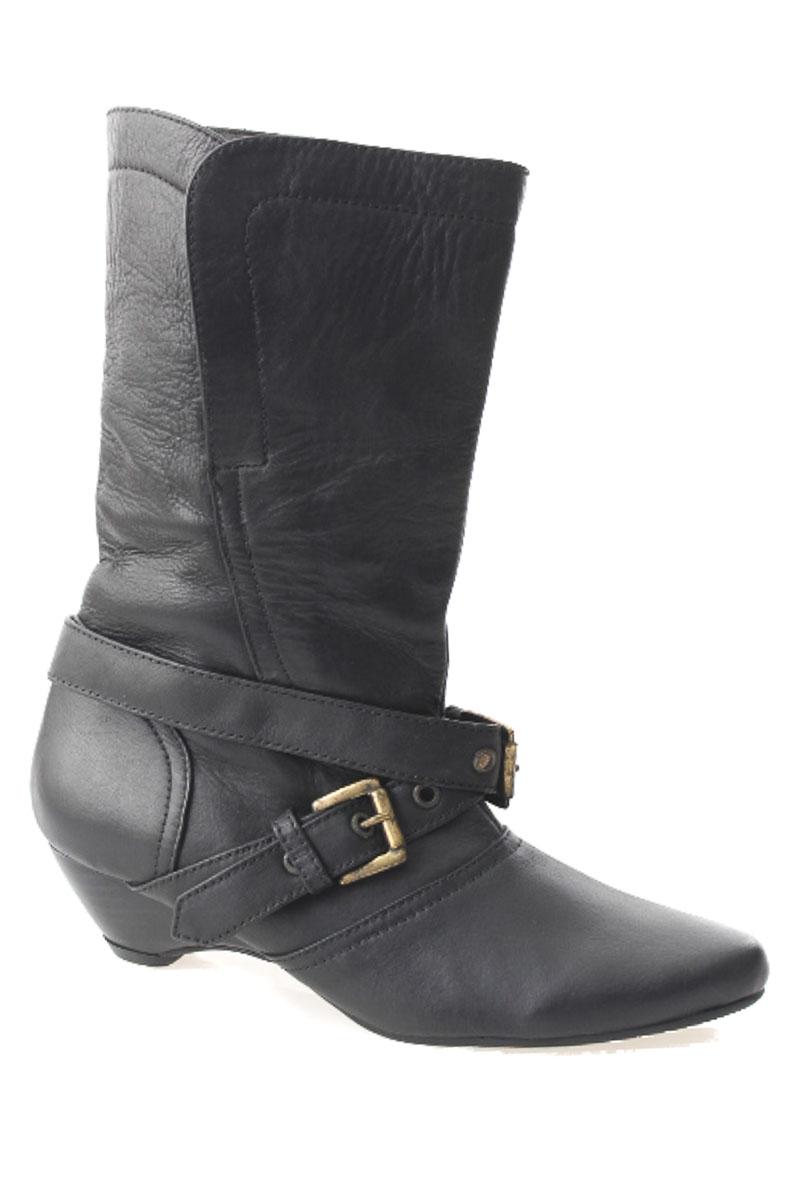 Zapatos Bota color Negro - Mazarena