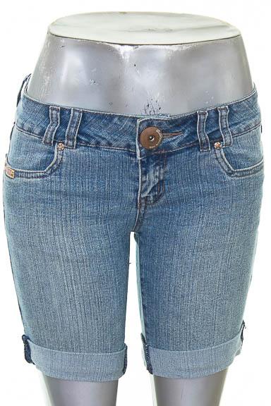 Short Jean color Azul - Bubblegum