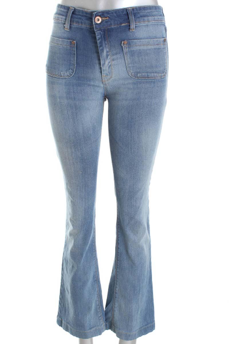 Pantalón Jeans color Azul - MNG