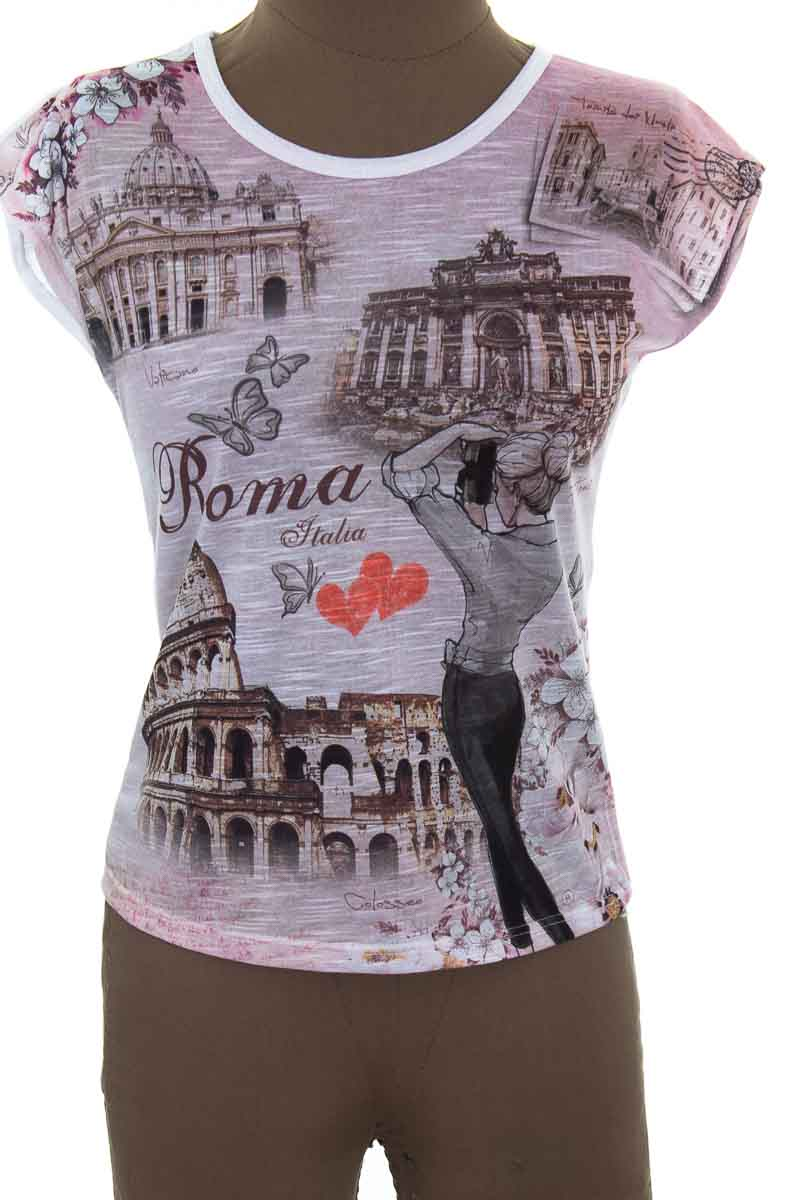 Top / Camiseta color Rosado - Closeando