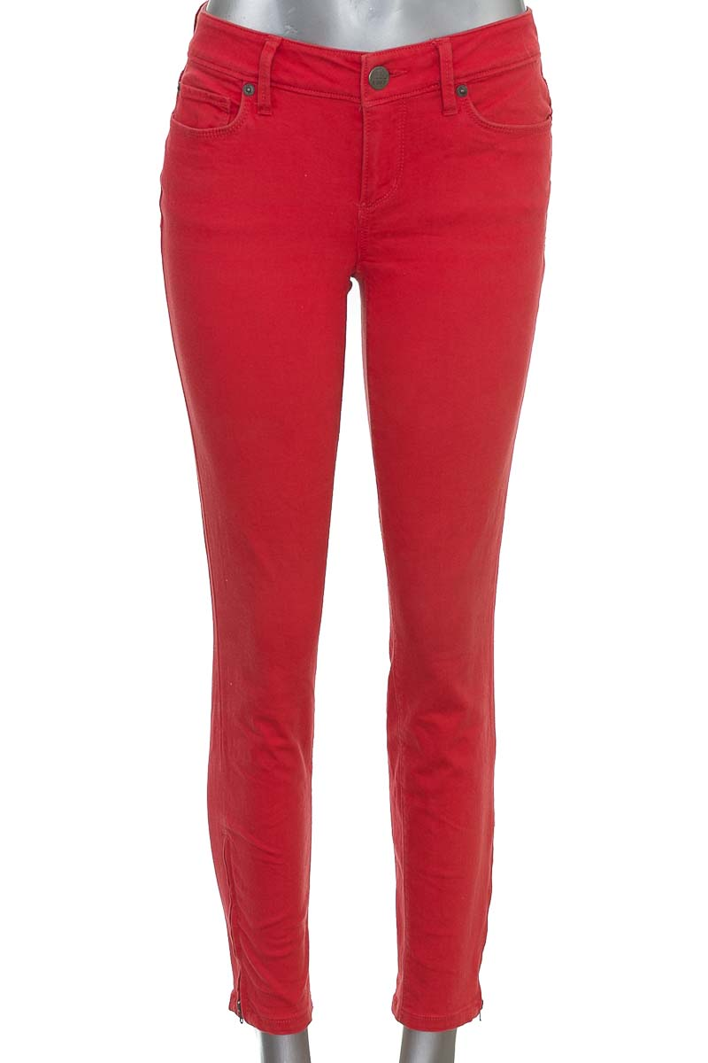 Pantalón Jeans color Rojo - Ann Taylor