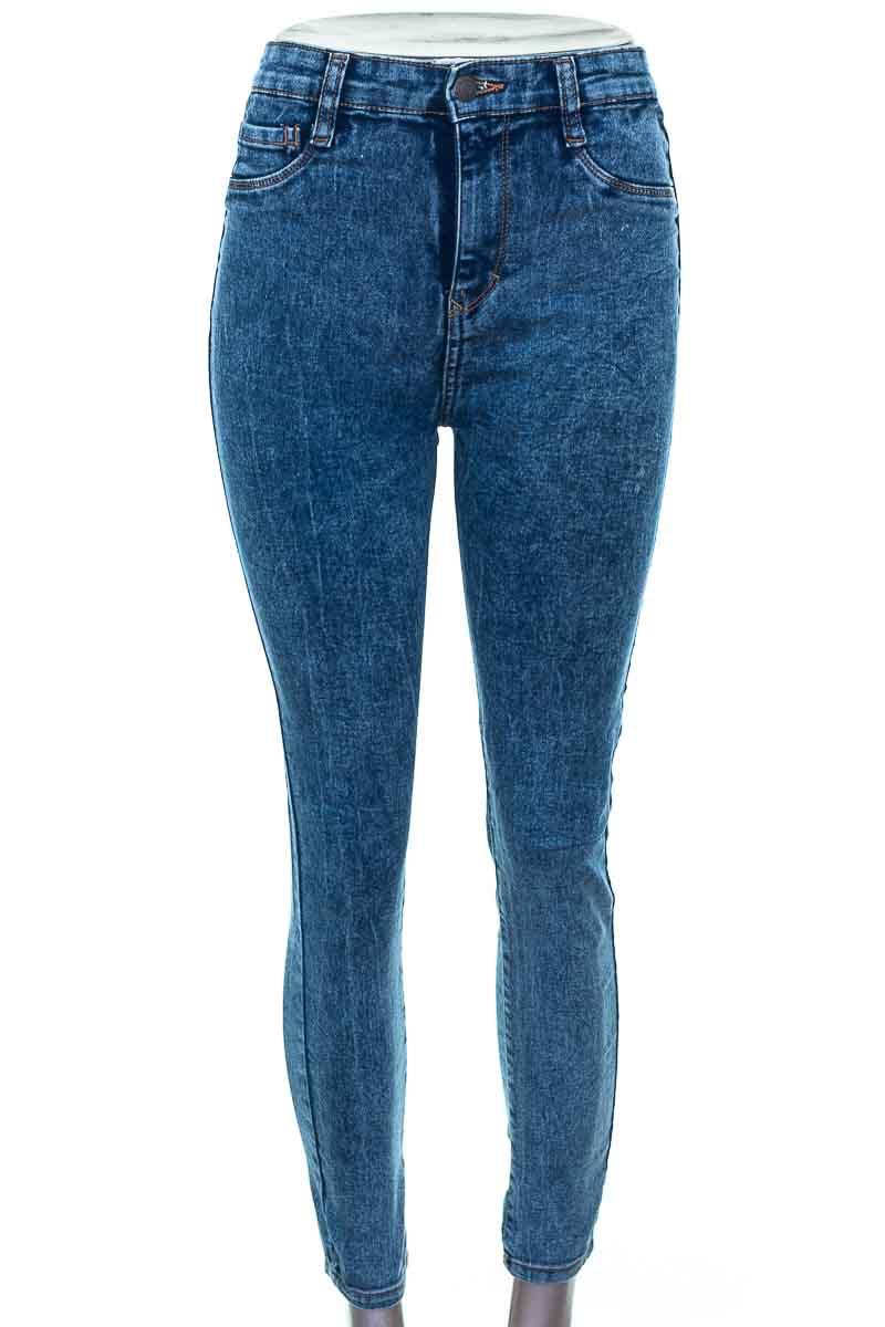 Pantalón color Azul - Pull & Bear