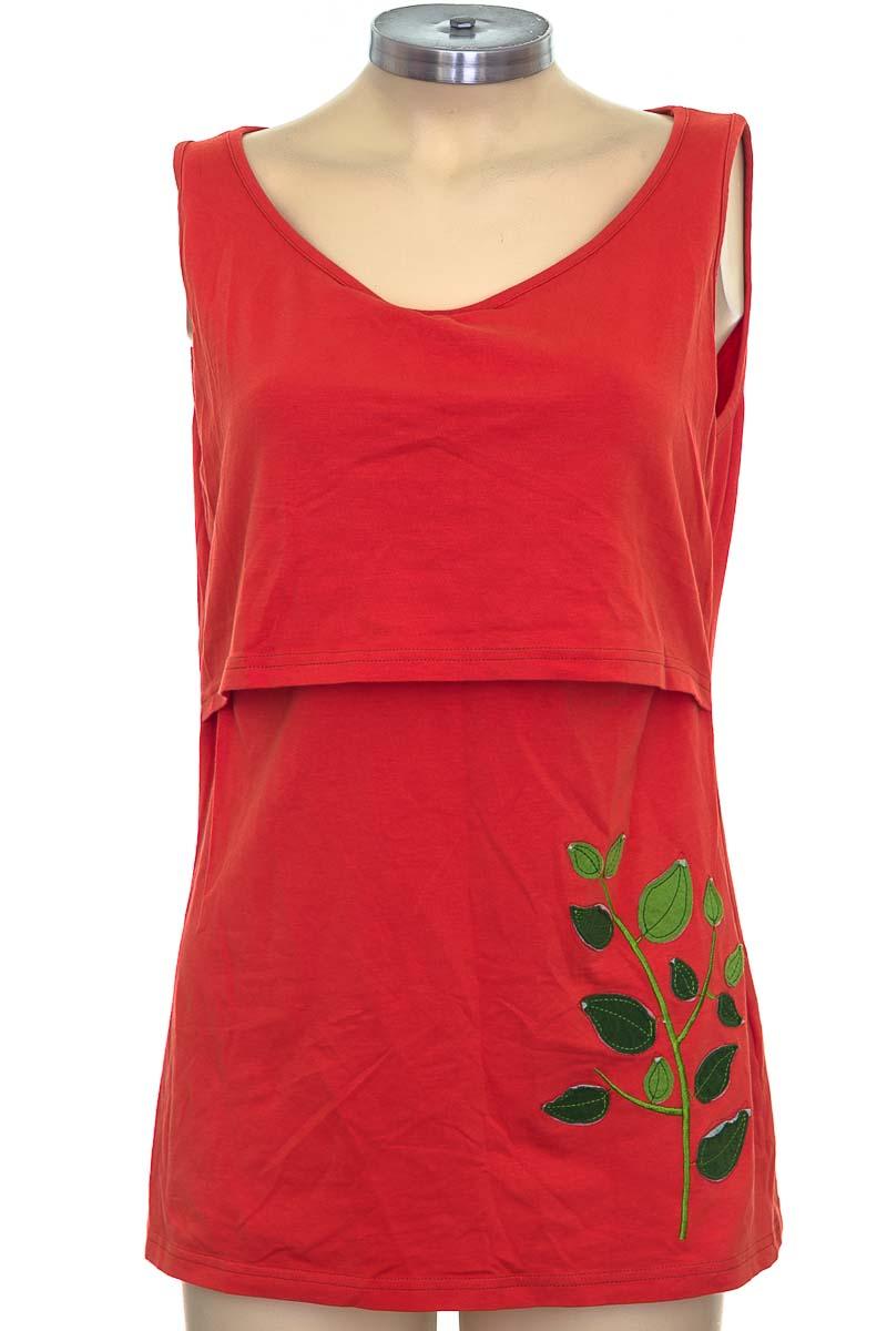 Top / Camiseta color Naranja - Árbol de amor