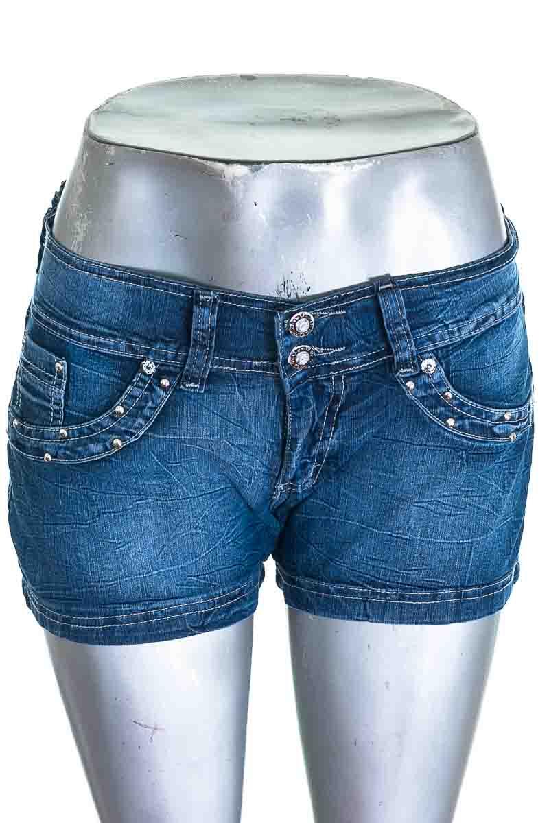 Short Jean color Azul - Magnates