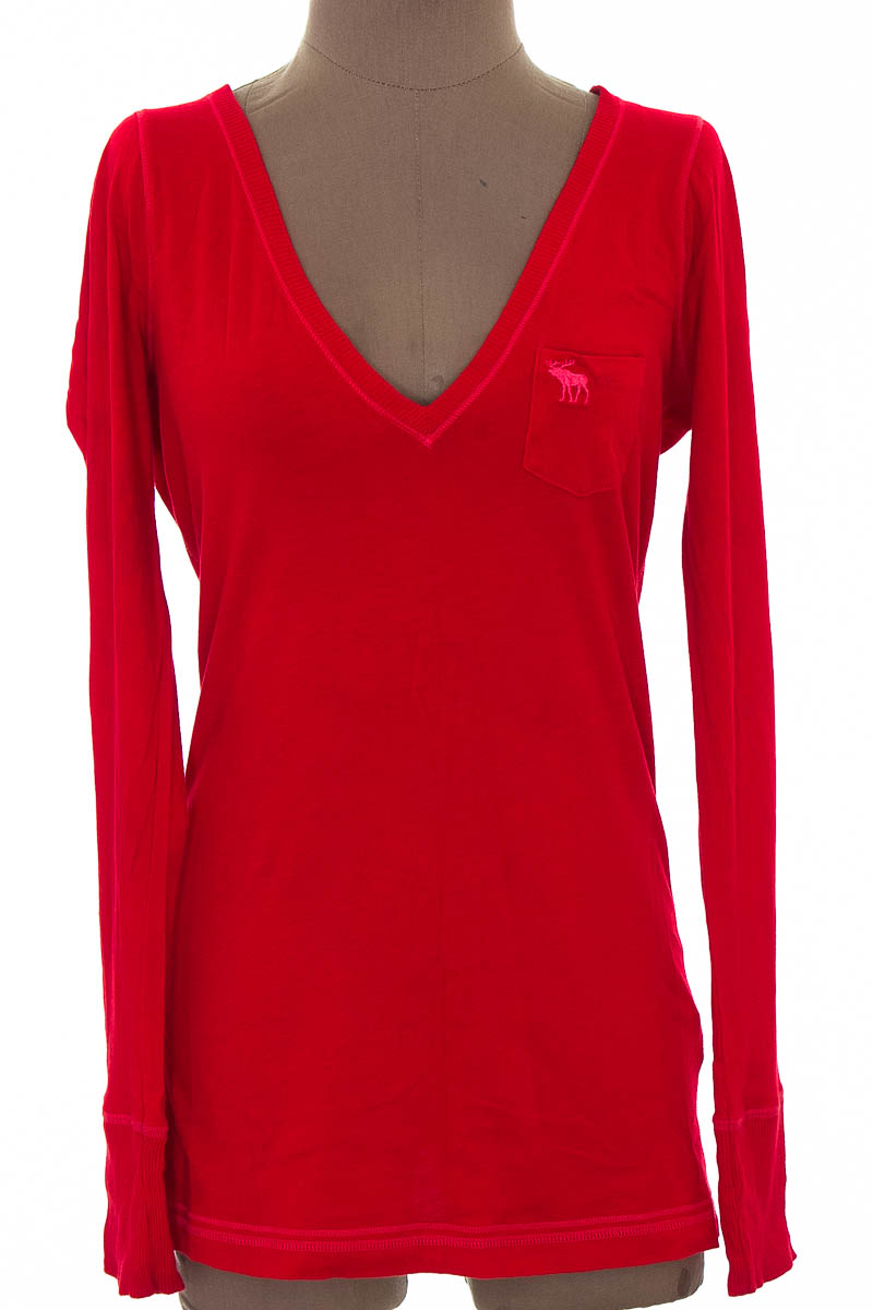 Sweater color Rojo - Abercrombie