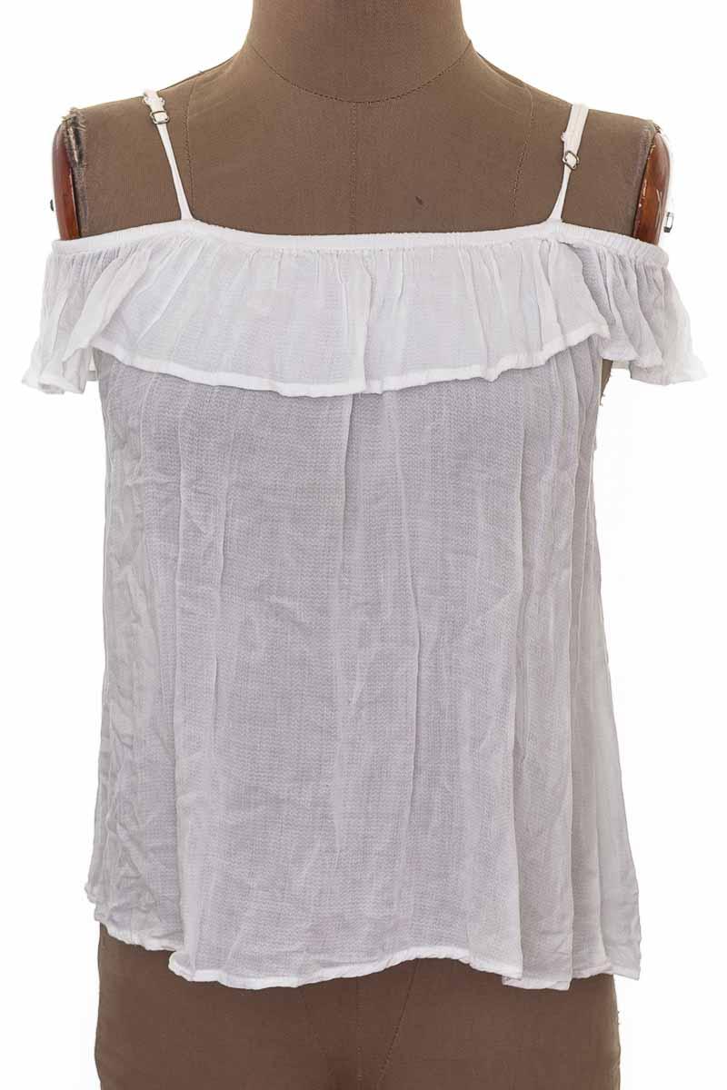 Blusa Casual color Blanco - TopMark