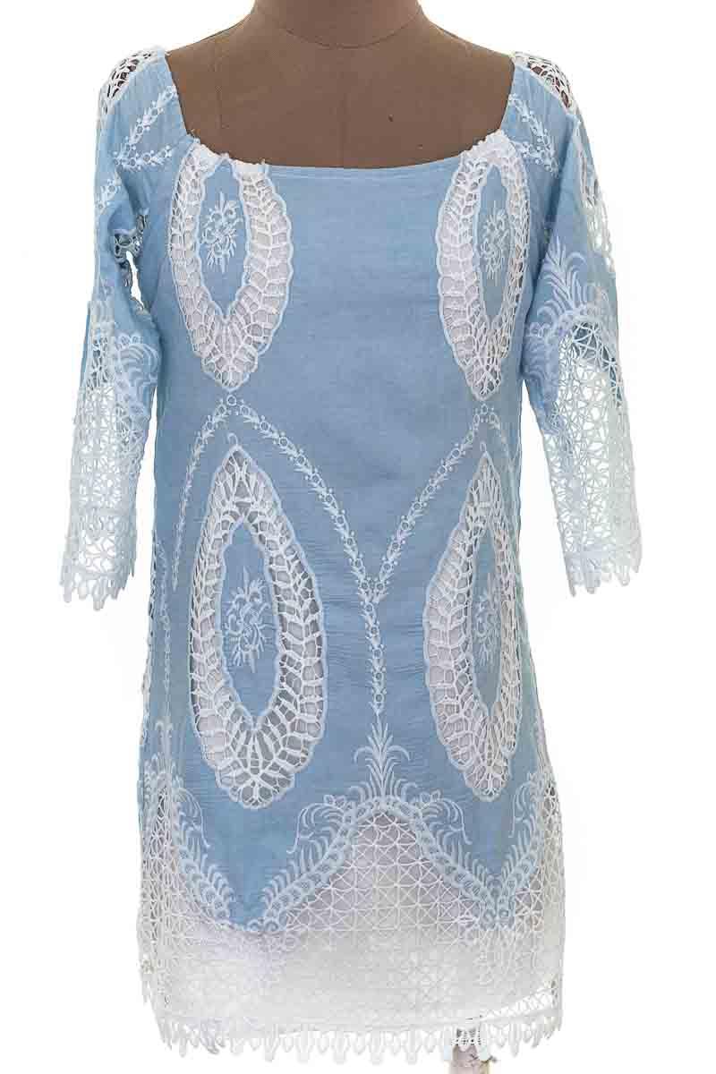 Vestido / Enterizo Casual color Azul - Lucy Paris