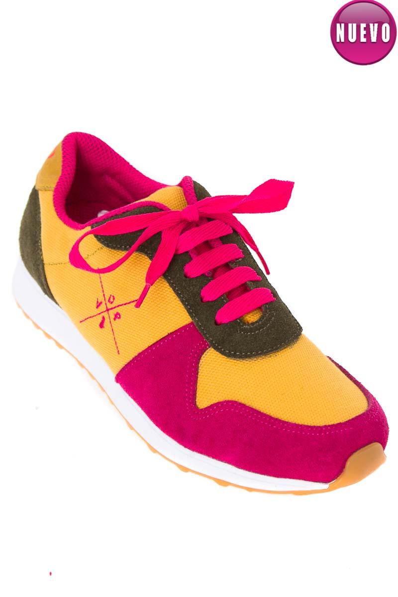 Zapatos Tenis color Fucsia - VICTOR DEL PERAL