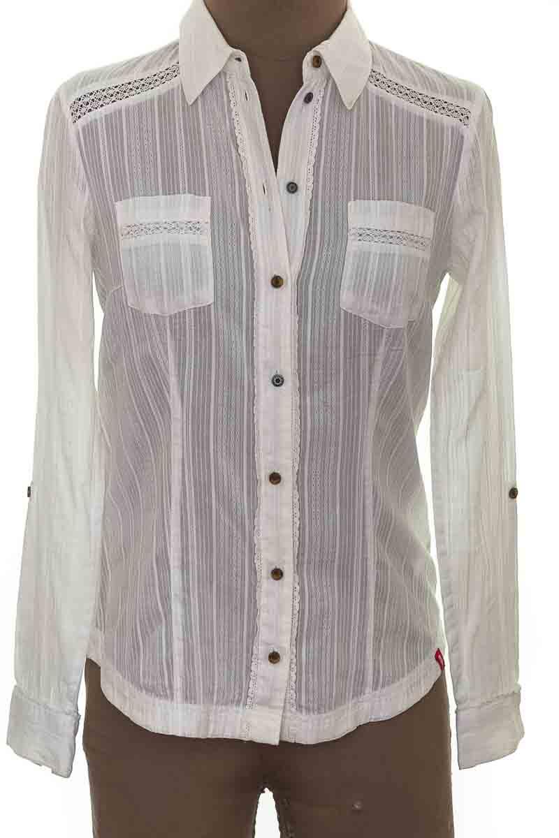 Blusa Casual color Blanco - Esprit