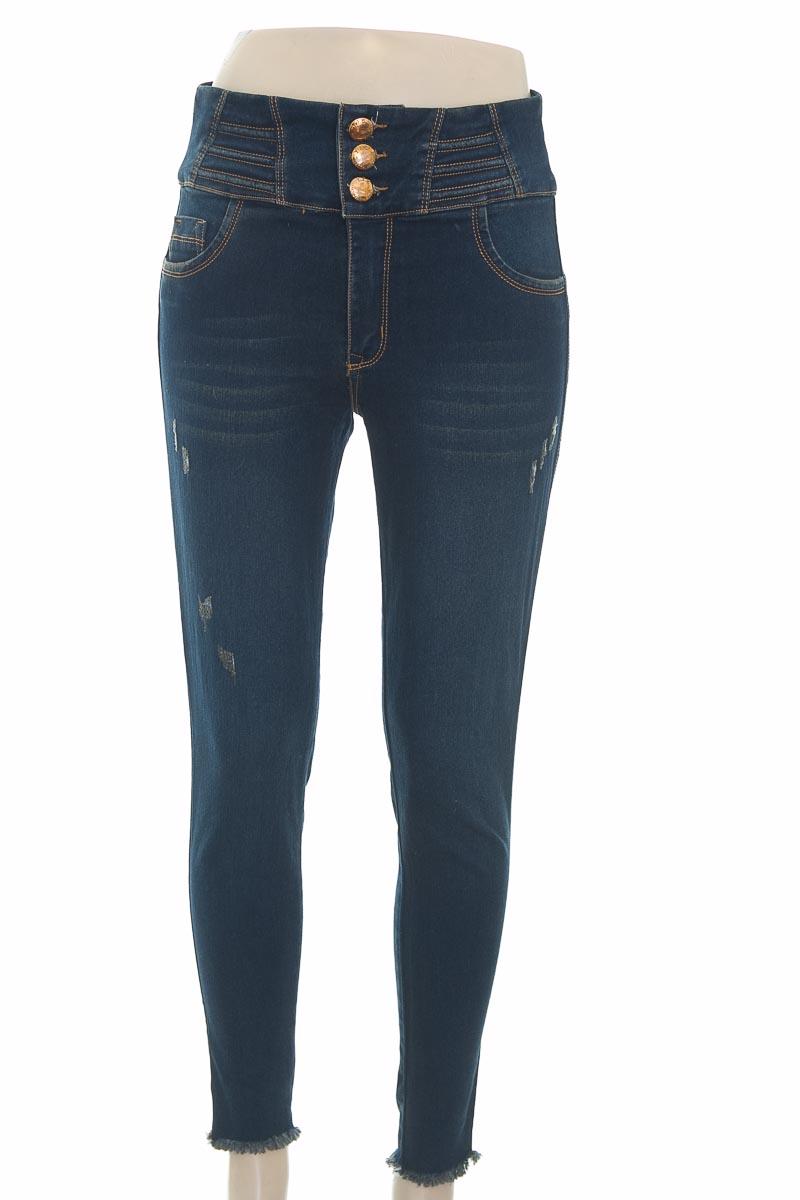 Pantalón color Azul - Blue line