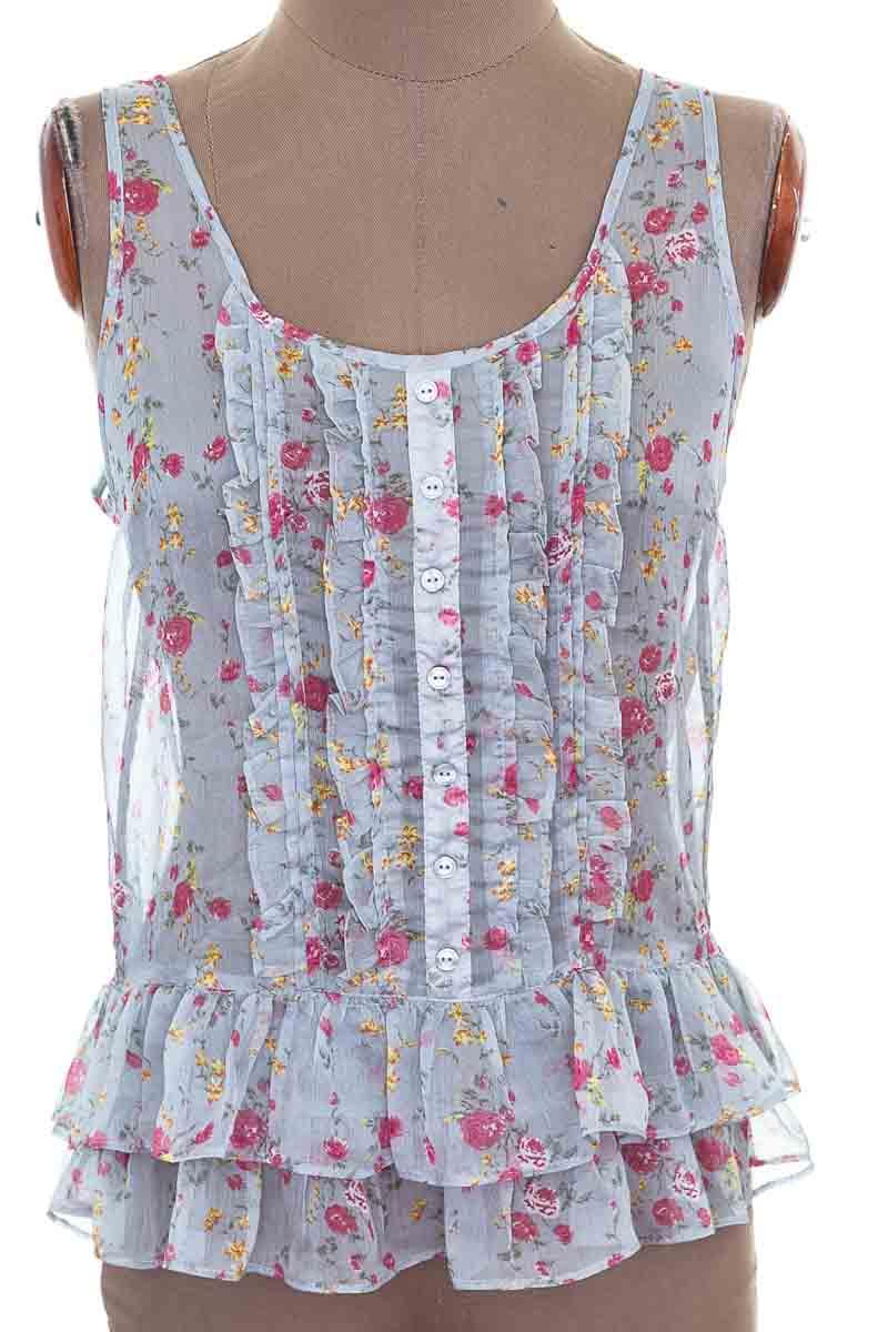 Blusa color Gris - Sybilla