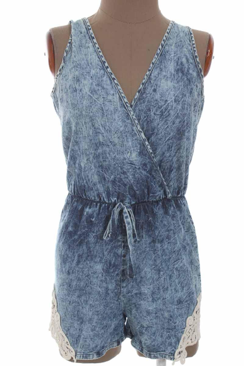 Vestido / Enterizo Enterizo color Azul - Charlotte Russe