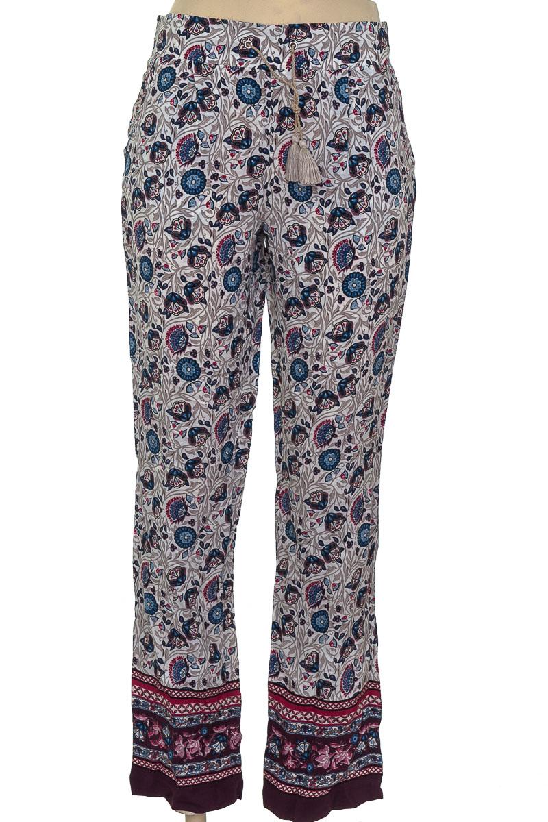 Pantalón color Beige - NAF NAF