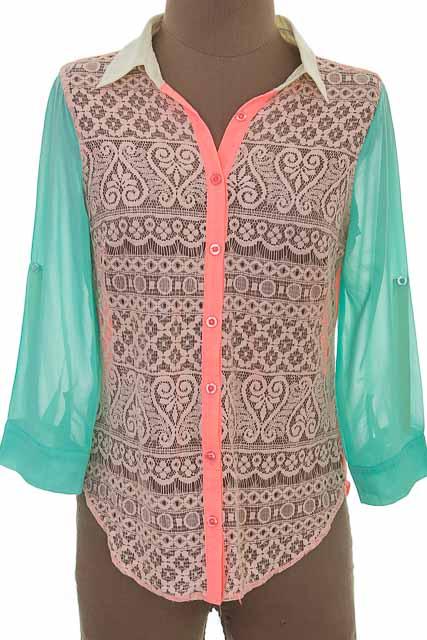 Blusa color Rosado - Marineblu