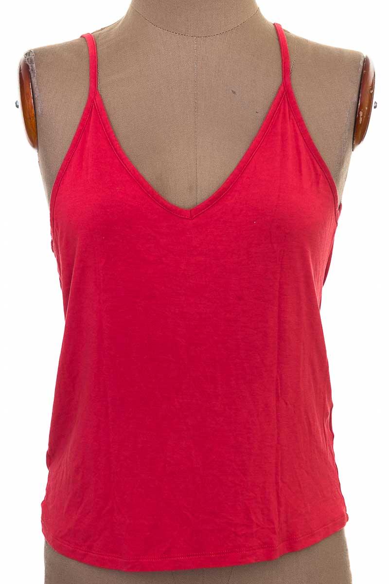 Top / Camiseta color Vinotinto - Tennis