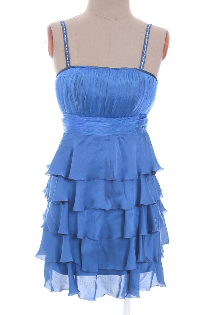 Vestido / Enterizo Fiesta color Azul - Diseños Antonio Valencia