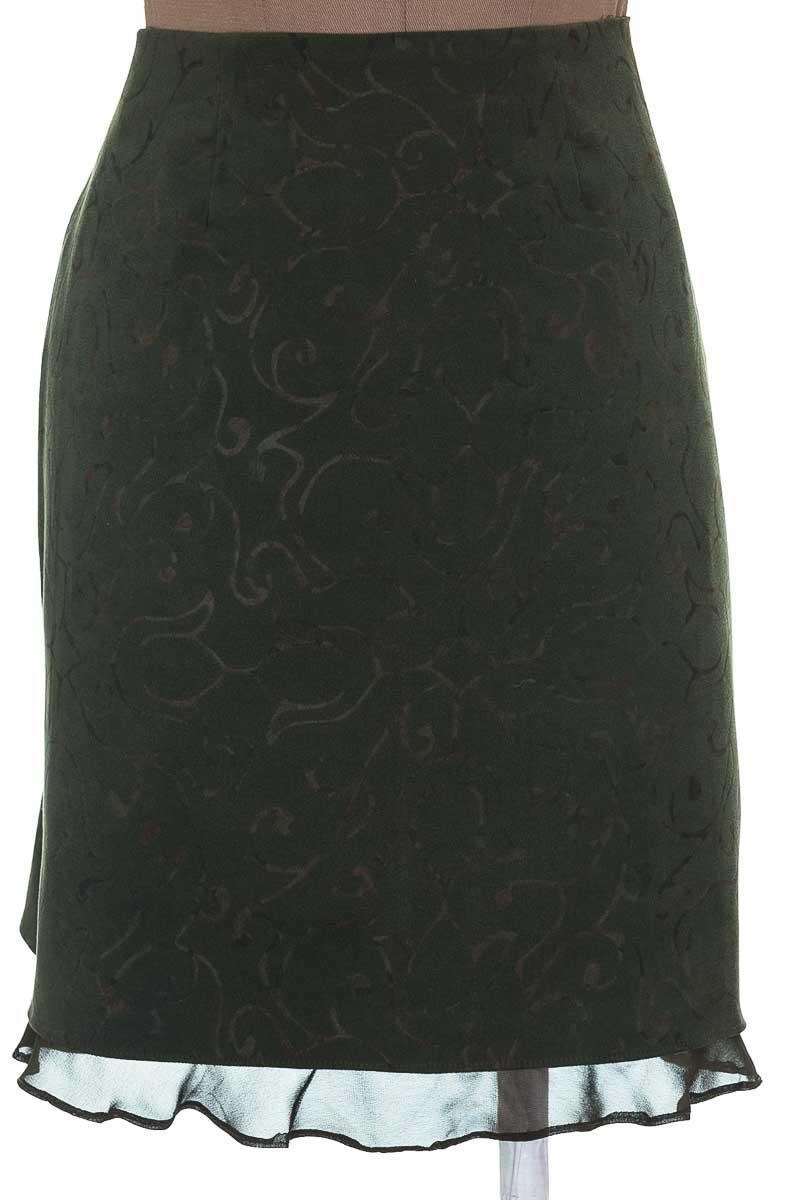 Falda color Verde - Blancaluz Uribe