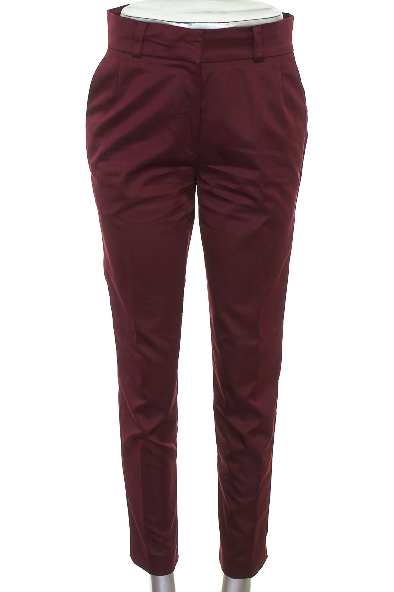 Pantalón Casual color Vinotinto - Closeando