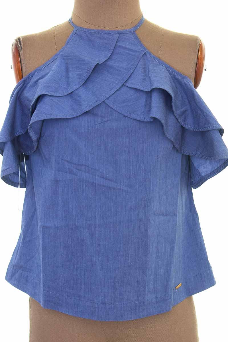 Blusa color Azul - Zaret Sahar