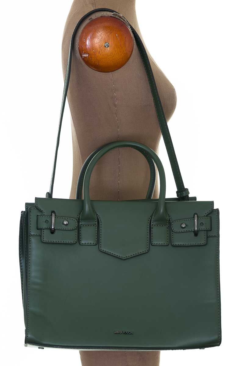 Cartera / Bolso / Monedero color Verde - MNG