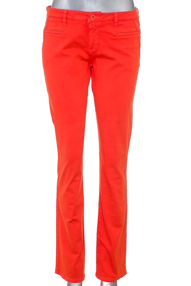 Pantalón Casual color Naranja - NAF NAF
