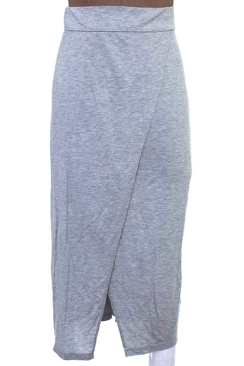 Falda Casual color Gris - H&M