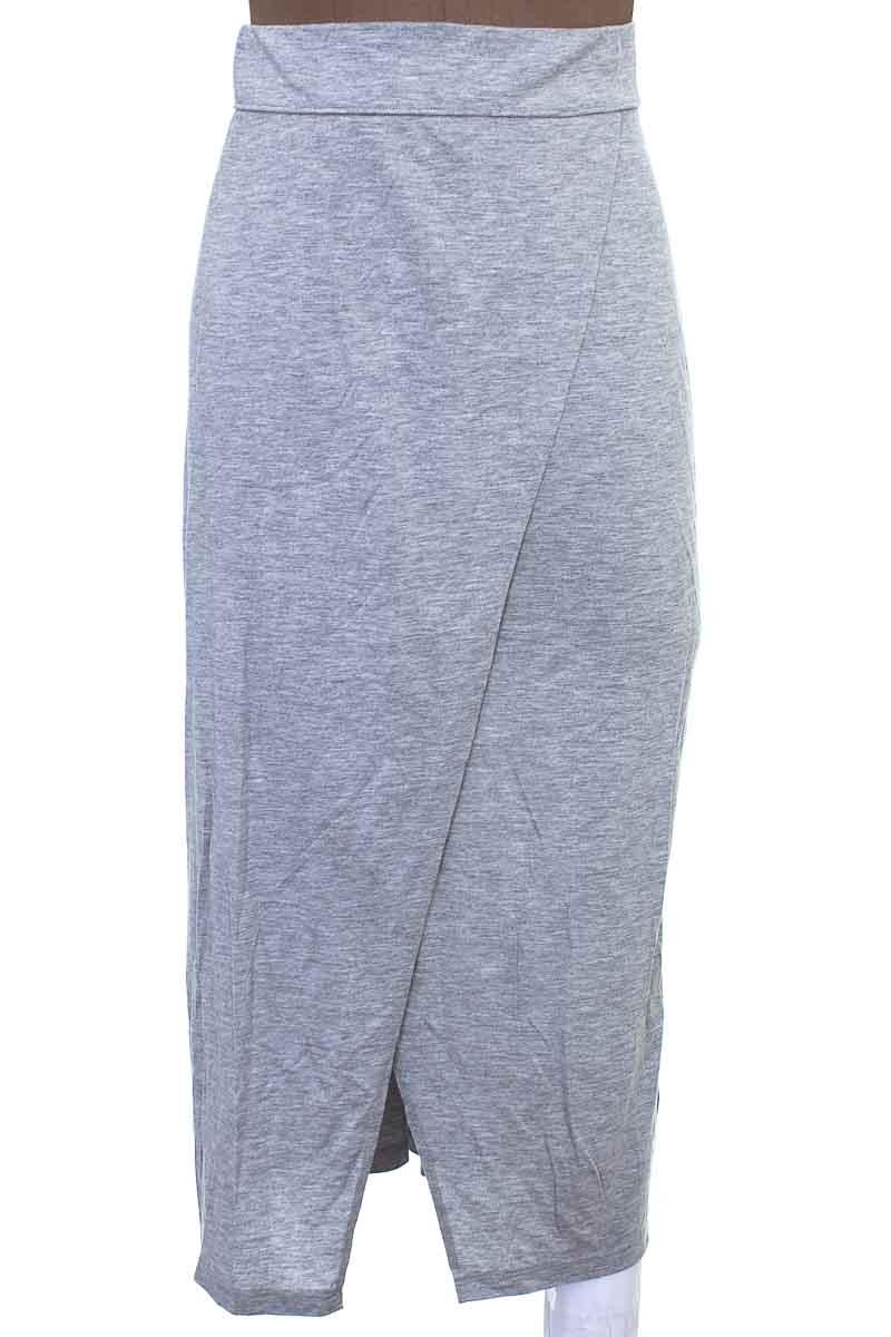 Falda Casual color Gris - H&M