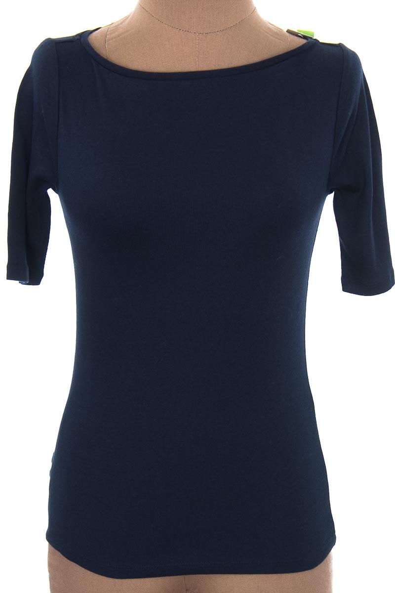 Top / Camiseta color Azul - Ann Taylor