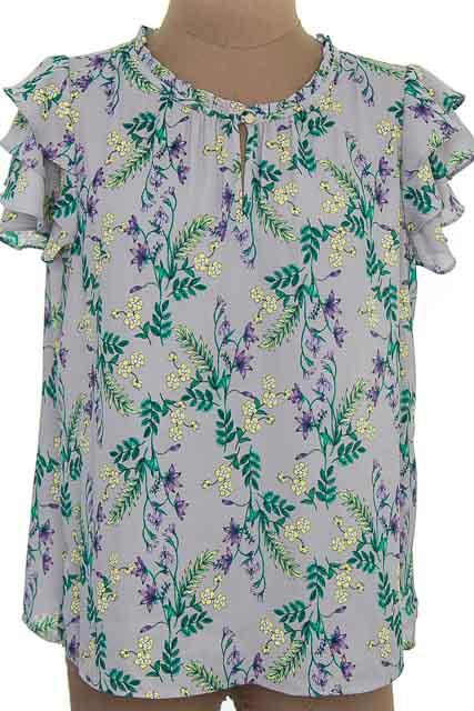 Blusa color Gris - Liz Claiborne
