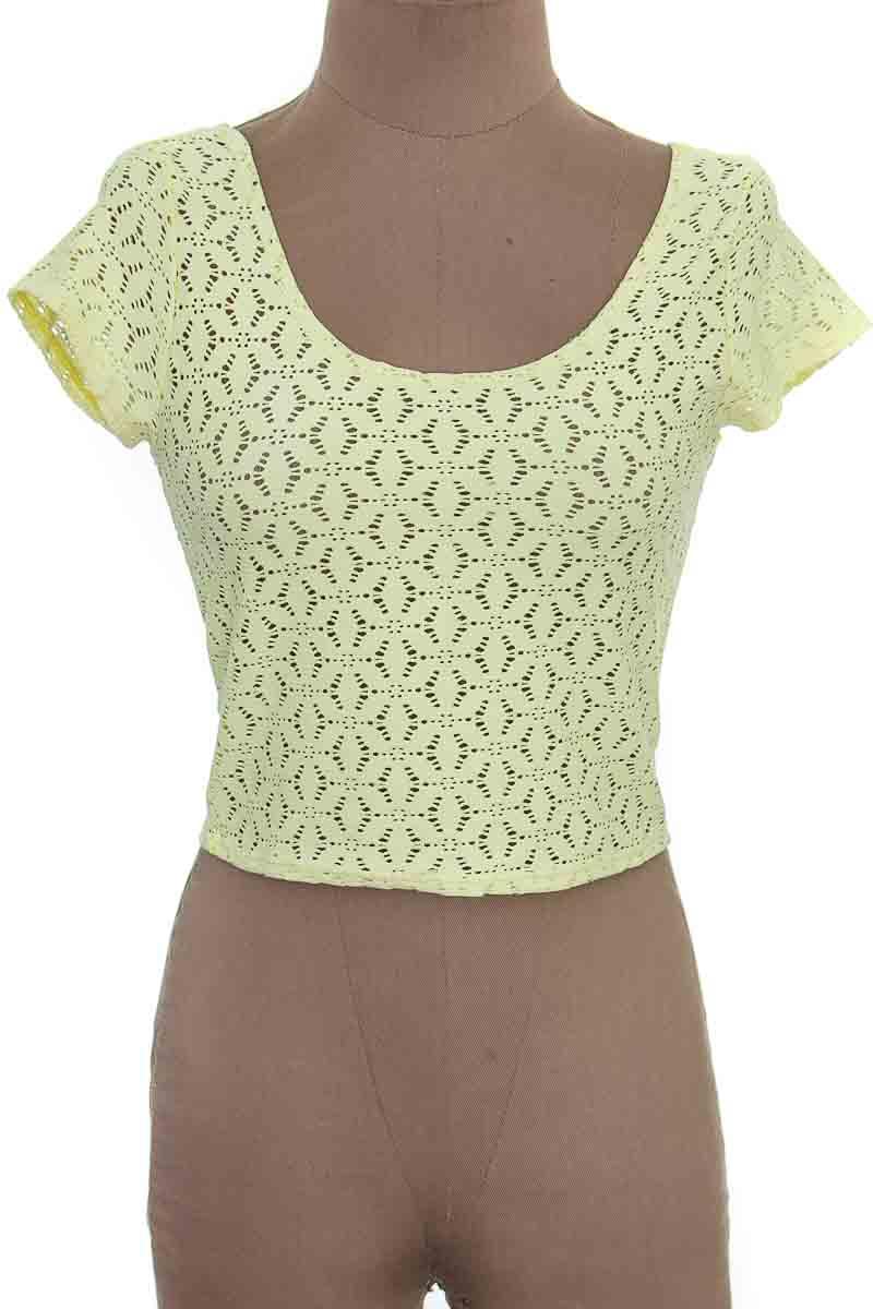 Top / Camiseta color Amarillo - Seven Seven