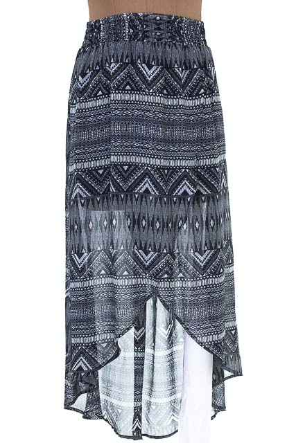 Falda color Negro - Arkitect