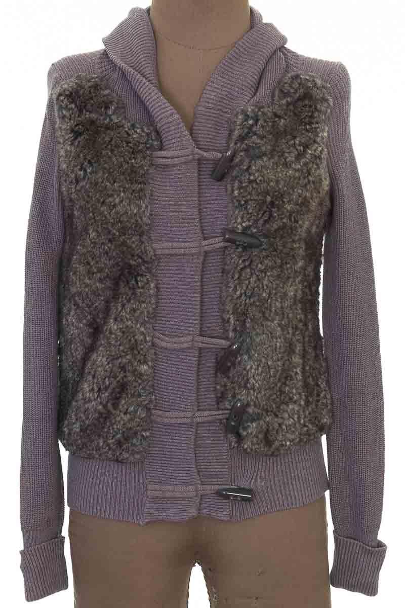 Sweater color Gris - Color Siete