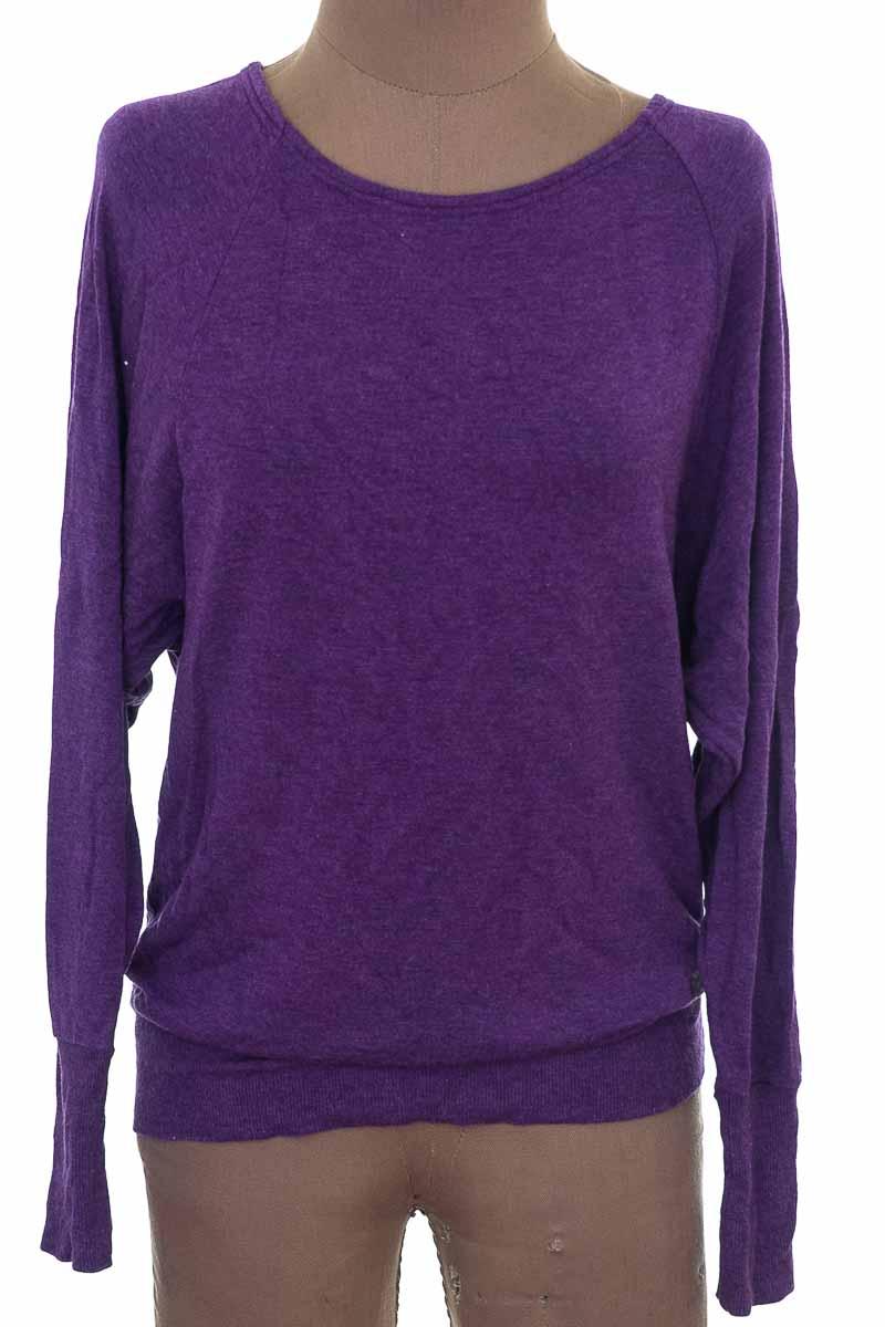 Sweater color Morado - ROADRUNNER SPORTS
