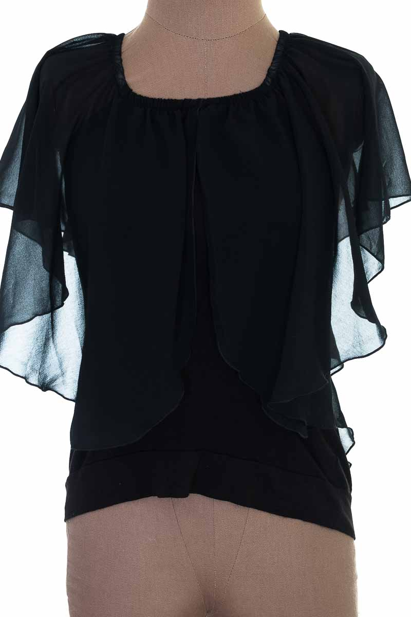 Blusa color Negro - RIO