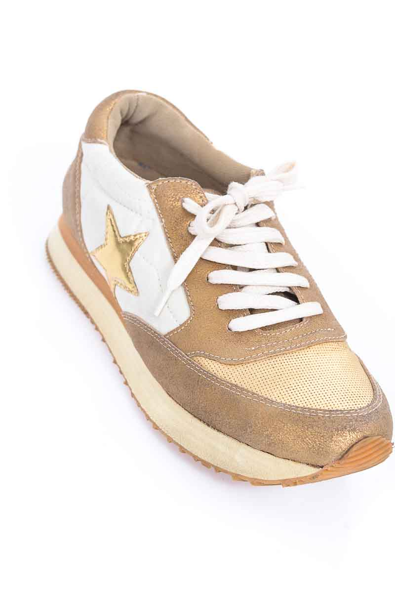 Zapatos Tenis color Beige - Rapsodia