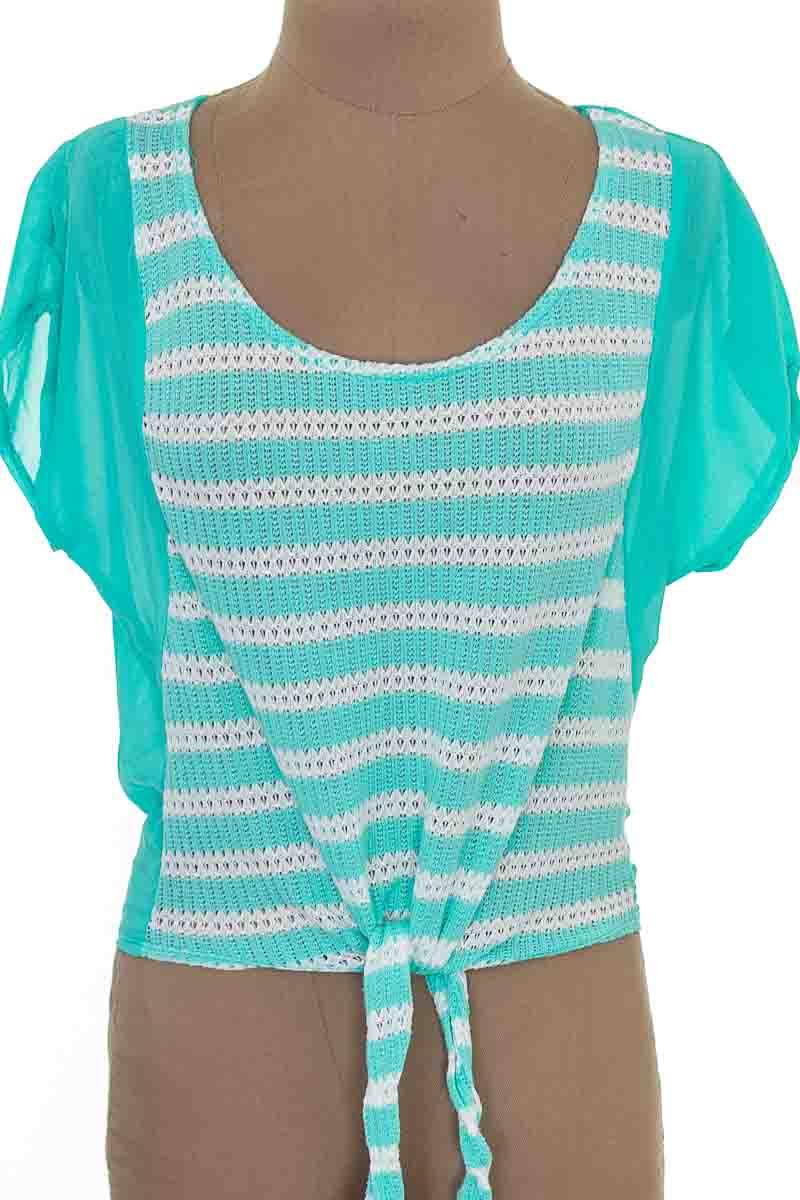 Blusa color Aguamarina - Zawary