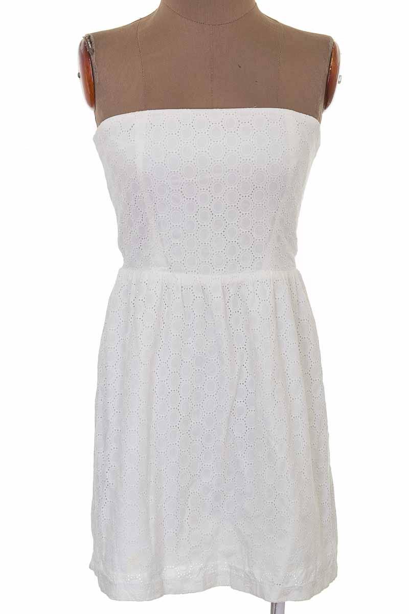 Vestido / Enterizo Casual color Blanco - GAP
