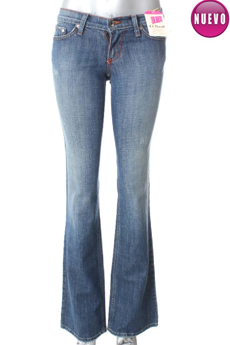 Pantalón Jeans color Azul - Plastic by Gly