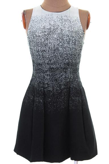 Vestido / Enterizo Casual color Negro - ARMANI EXCHANGE