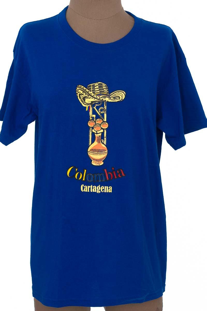 Top / Camiseta color Azul - T-SHIRTS
