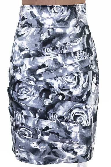 Falda Elegante color Gris - Kenpo Girl