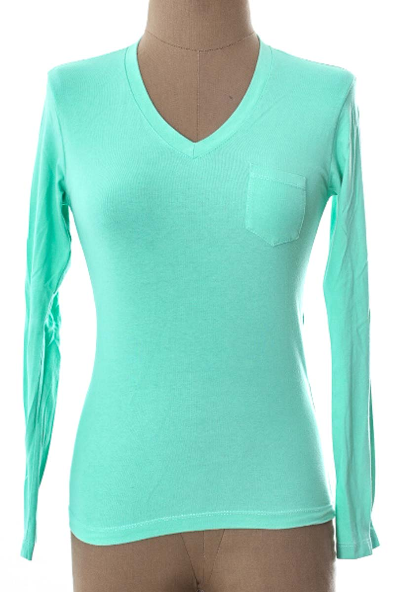 Top / Camiseta color Verde - EVER CLEAR