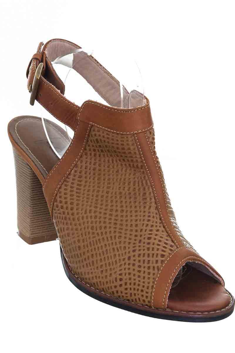 Zapatos color Café - Luz Diana