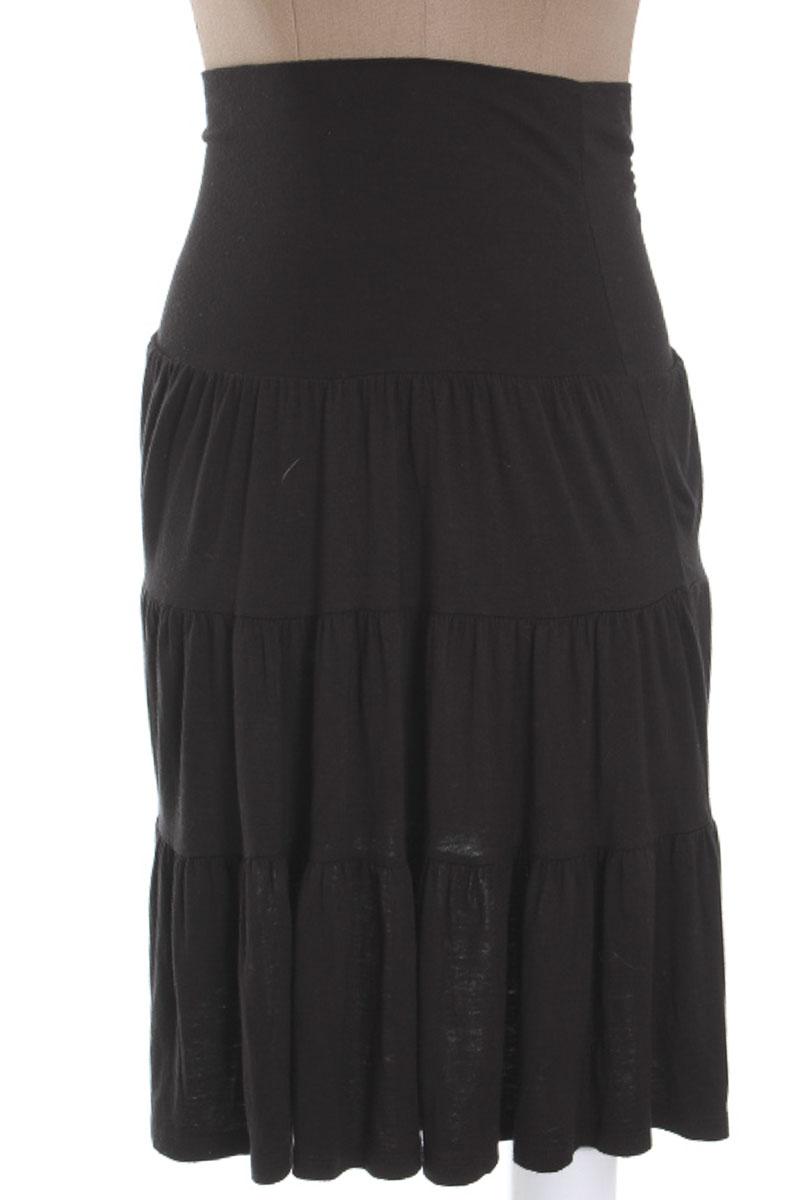 Falda Casual color Negro - Lush