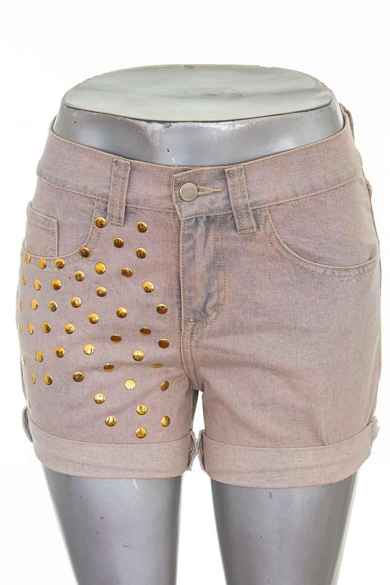 Short Jean color Beige - Closeando